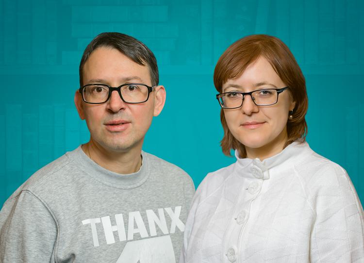 Ян Венцель и Елена Рымшина