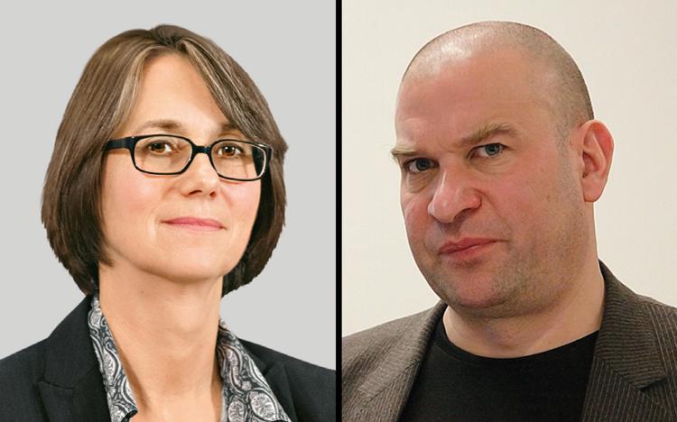 Карин Хербер-Шлапп и Кристоф Хаакер