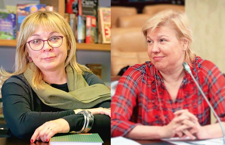 Ольга Муравьева и Татьяна Мантула