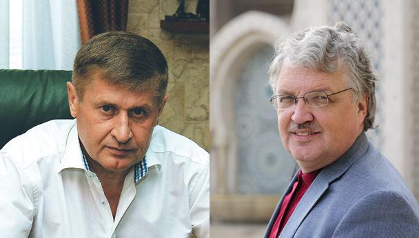 Леонид Палько и Сергей Дмитриев